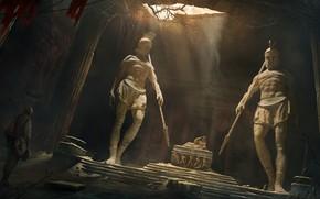 Картинка античность, Vladimir Manyukhin, потерянная гробница, The lost tomb