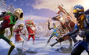 Картинка Epic Games, Fortnite, Winter Season