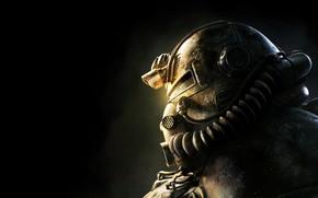 Обои Шлем, Fallout, Bethesda Softworks, Bethesda, Братство, Bethesda Game Studios, Brotherhood of Steel, Fallout 76, Братство ...