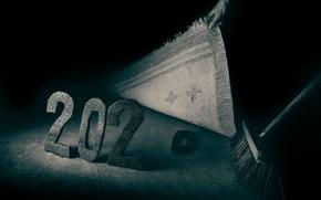 Картинка метла, год, 2020