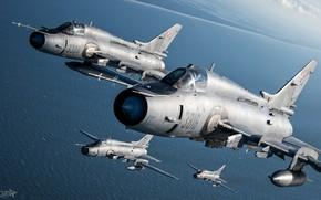 Картинка Море, Фонарь, Истребитель-бомбардировщик, Пилот, Кокпит, Су-22, Sukhoi Su-22M4, ВВС Польши, Су-22М4, ПТБ, HESJA Air-Art Photography