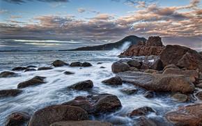 Картинка океан, скалы, Австралия