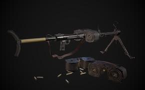 Картинка Германия, Пулемёт, MG 15