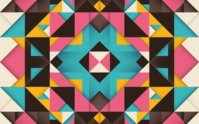 Картинка абстракция, фон, вектор, геометрия