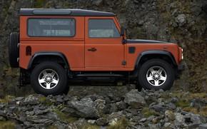 Картинка Land Rover, 2009, Defender, в профиль, Limited Edition