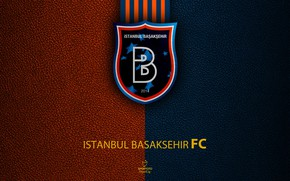 Картинка wallpaper, sport, logo, football, Turkish Superlig, Istanbul Basaksehir