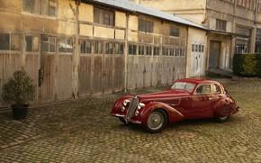 Картинка Classic, Retro, Alfa Romeo 8C, Italian Cars