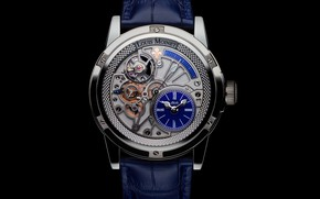 Картинка blue, Watch, Louis Moinet, Tempograph