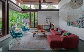 Картинка комната, интерьер, гостиная, Contemporary House, by Khosla Associates