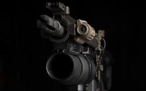 Картинка дуло, автомат, гранатомёт, M203