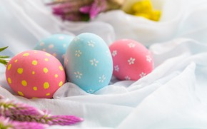 Картинка яйца, пасха, ткань, Праздник