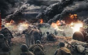 Картинка война, ссср, солдаты, германия, ussr, Pavel Bondarenko