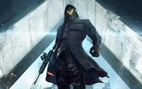 Картинка воин, маска, мужчина, броня, PlayerUnknown's Battlegrounds