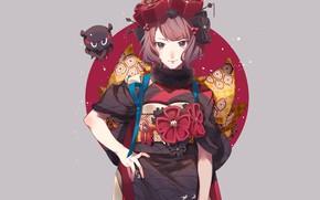 Картинка девушка, Fate / Grand Order, Судьба великая кампания, Foreigner
