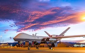 Картинка ВВС США, Reaper, General Atomics, MQ-9, разведывательно-ударный БПЛА