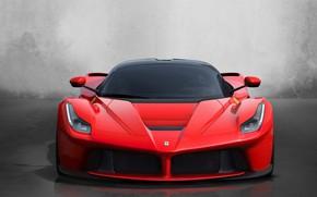 Картинка авто, красный, спорт, феррари