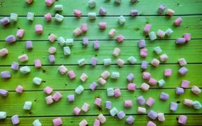 Картинка сладость, конфеты, широкоформатные, background, фон background, сладкое, обои на рабочий стол, полноэкранные, HD wallpapers, маршмеллоу, …