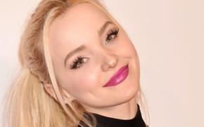 Картинка взгляд, лицо, поза, улыбка, портрет, макияж, актриса, певица, hair, Дав Камерон, Dove Cameron