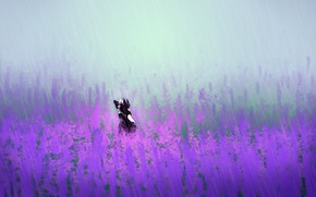 Картинка животное, вереск, by holyteeth