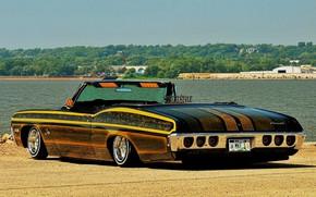 Картинка Chevrolet, Impala, Lowrider, Convertible, Custom, 1968 Year