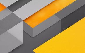 Картинка линии, полосы, жёлтый, серый, текстуры, фигуры, оранж