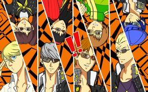 Картинка коллаж, игра, аниме, Persona 3