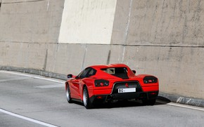 Картинка Красный, Ferrari, Суперкар, Supercar, Ferrari FZ93