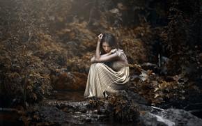 Картинка девушка, природа, Marina