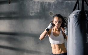 Картинка boxing, female, training