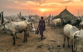 Картинка Terekeka, South Sudan, Against the Sun