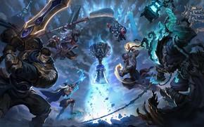 Картинка существа, кубок, League of Legends