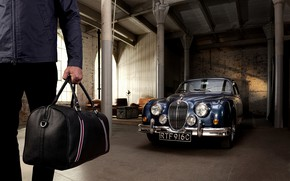 Картинка Jaguar, Ягуар, 2019, Jaguar Mark 2, седан бизнес класса, mid-sized luxury sports saloon, эксклюзивная коллекция …