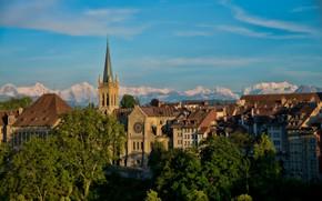 Картинка дома, Швейцария, Берн