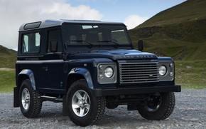 Картинка Land Rover, Defender, 2013, Defender 90, трёхдверный