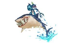 Картинка акула, Fizz, Legends of Runeterra