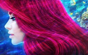 Картинка волосы, принцесса, Ariel, MagicnaAnavi