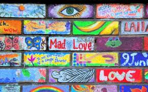 Картинка цвет, Краска, стенa