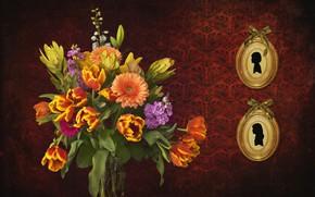 Картинка цветы, фон, картинки, букет