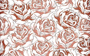 Картинка фон, розы, patterns, Roses