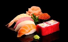 Картинка макро, икра, морепродукты