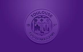 Картинка wallpaper, sport, logo, football, Ligue 1, Toulouse