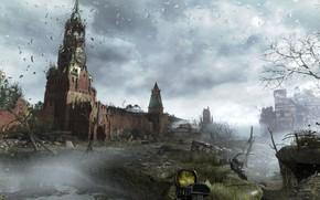 Картинка апокалипсис, Moscow, metro, metro last light