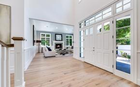 Картинка вилла, интерьер, гостиная, Open House in Encino