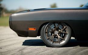 Картинка Тюнинг, Evolution, Диски, 1970, Dodge Charger, Маслкар, Speedkore, Углепластик