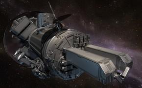 Обои 3д графика, космос, космический корабль