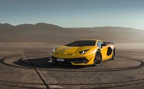 Картинка Lamborghini, суперкар, Aventador, SVJ, 2019, Aventador SVJ