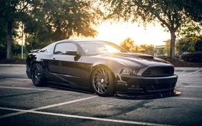Картинка купе, Ford Mustang, культовый автомобиль, Pony Car, пони-кар