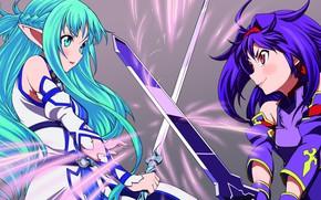 Картинка девушки, Мастера меча онлайн, Sword Art Online