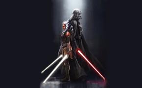Картинка джедай, Дарт Вейдер, сит, Звездные войны: Повстанцы, Асока, Star Wars: Rebels