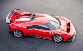 Картинка машина, асфальт, Ferrari, спорткар, P80/C